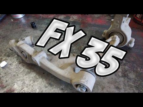 Замена рычагов на Инфинити FX 35