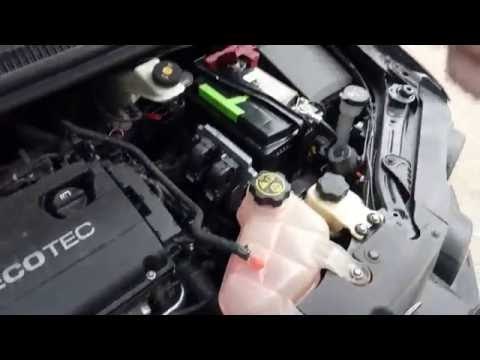 Chevrolet Aveo проблемы запуска авто.