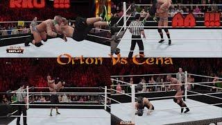 getlinkyoutube.com-John Cena Vs Randy Orton - Hell In a Cell PPV - Epic Match Highlights - WWE 2K16