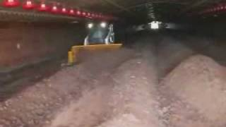 getlinkyoutube.com-Oklahoma Video Poultry Litter In-House Windrow Composting Turner BobCat Organic Soil Amendments