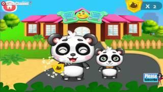 "getlinkyoutube.com-Sweet Baby Panda's Supermarket ""Educational"" Videos games for Kids - Girls - Baby Android"