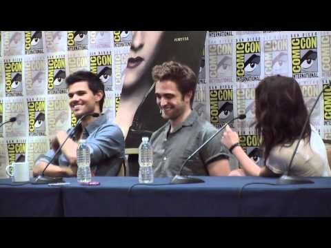 Comic Con 2012 - 'Twilight Saga: Breaking Dawn pt 2' Panel Part 1 of 3