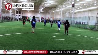 Halcones FC vs. León Liga San Francisco Categoria 2007