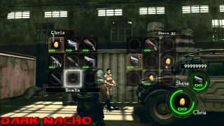 getlinkyoutube.com-Resident evil 5 PS3 Hacked Weapons