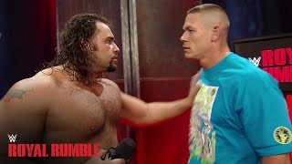 getlinkyoutube.com-John Cena gets into an altercation with Rusev - WWE Network Exclusive