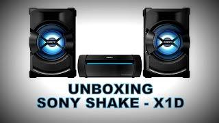 getlinkyoutube.com-SONY SHAKE - X1D | Unboxing