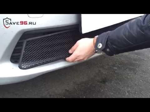 Сетка на решетку радиатора для Toyota Corolla (Тойота Королла) 2011-2013 г.в.