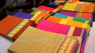 getlinkyoutube.com-Silk Saree shop in Kanchipuram