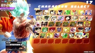 getlinkyoutube.com-Dragon Ball Zenkai Battle Royale : Goku SSGSS & Golden Freezer (Gameplay)