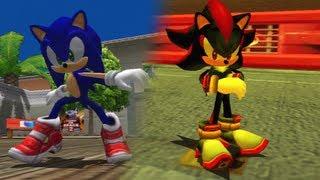 getlinkyoutube.com-Sonic Adventure 2 HD | City Escape & Radical Highway