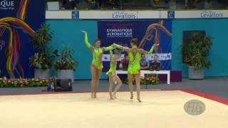 getlinkyoutube.com-GREAT BRITAIN Women's Groups - Dynamic Qualifications  -- 2014 Acrobatic Worlds (FRA)