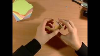getlinkyoutube.com-Origami modułowe 1# Kwadrat i kula