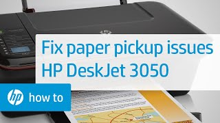 getlinkyoutube.com-Fixing Paper Pick-Up Issues - HP Deskjet 3050 All-in-One Printer