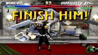 getlinkyoutube.com-Mortal Kombat Project 4.1 - Aqua playthrough