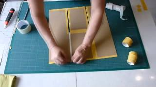 getlinkyoutube.com-Как сделать приспособление для складывания одежды и постельного белья