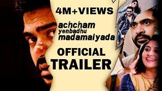 getlinkyoutube.com-Achcham Yenbadhu Madamaiyada - Official Trailer | A R Rahman | STR | Gautham Vasudev Menon