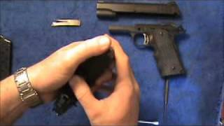 getlinkyoutube.com-1911: Replacement and Adjustment of the Sear Spring
