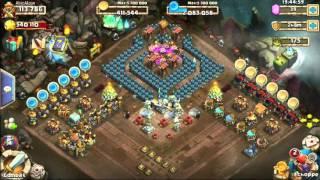 Castle Clash / Royal Clash - Kurze Info: Gildenkriege & Halloween Base Design