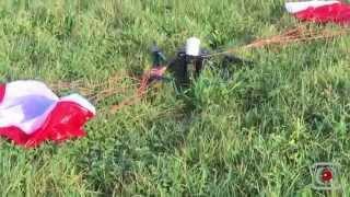 getlinkyoutube.com-Parachute- DJI INSPIRE PRO S2 S3 DGAC -4KG