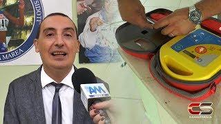 """Gioiosa Marea - Defibrillatori Istituto Comprensivo """"Anna Rita Si... - www.canalesicilia.it"""