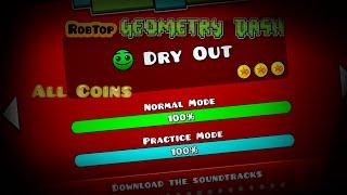 getlinkyoutube.com-Level 4!!! Geometry Dash [1.9] Dry Out All Coins :D