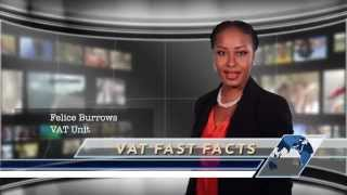 VAT Fast Facts PSA. Information on the introduction of VAT throughout The Bahamas.