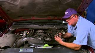 getlinkyoutube.com-Repair/replace oil sending unit on a 2001-2006 Chevorlet Silverado, Suburban, and Escalade.