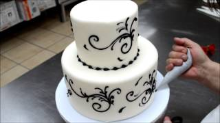 getlinkyoutube.com-Easy To Make Wedding Cake - 5 Min Simple Beautiful Wedding Cake