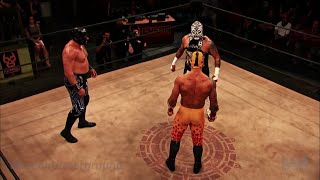 getlinkyoutube.com-Lucha Underground 3/9/16: Prince Puma vs Pentagon Jr. vs Mil Muertes - 3-WAY TITLE MATCH