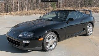 getlinkyoutube.com-1998 Toyota Supra Turbo 6-spd Start Up, Exhaust, and In Depth Review
