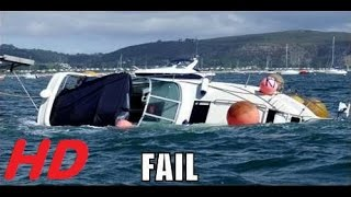 getlinkyoutube.com-[Funny Fail 2015] The Ultimate Boat Fails Compilation