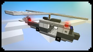 getlinkyoutube.com-✔ Minecraft: How to make a Helicopter