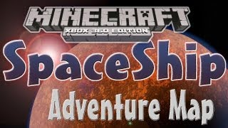 "getlinkyoutube.com-Minecraft Xbox 360: ""Space Ship"" Adventure map w/Download"