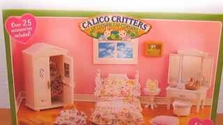 getlinkyoutube.com-Calico Critters Girl's Bedroom - Unboxing and Review with LPS!