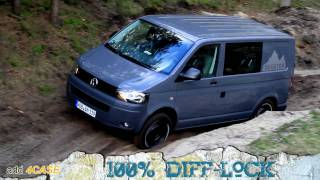 getlinkyoutube.com-Off Road Test Drive - VW T5 Rockton 4Motion Expedition (FULL HD 1080p)