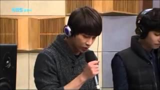 getlinkyoutube.com-131130 A-JAX - Because I'm Stupid (SS501) Live at Sukira Kiss The Radio