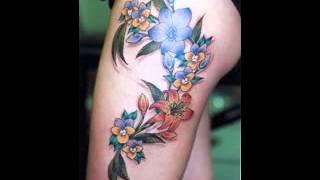 getlinkyoutube.com-Ideas de diseño de tatuaje de la pierna