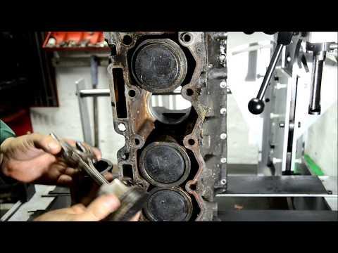 Peugeot 206 Установка поршня в цилиндр