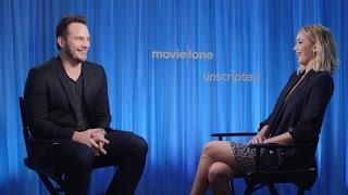 'Passengers' | Unscripted | Chris Pratt, Jennifer Lawrence