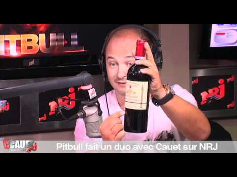 Pitbull en duo avec Cauet sur NRJ