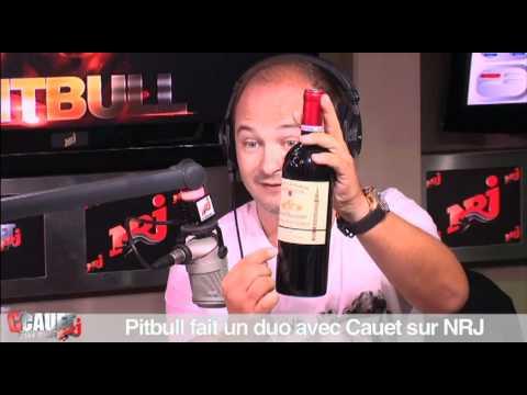 Pitbull en duo avec Cauet sur NRJ