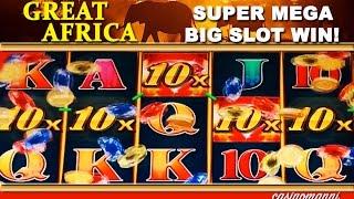 getlinkyoutube.com-Great Africa Slot  - **SUPER MEGA BIG SLOT WIN** - Slot Machine Bonus