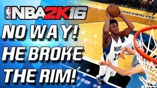 getlinkyoutube.com-HE BROKE THE RIM?!!?!?! DRAFT N PLAY vs SHAKE4NDBAKE