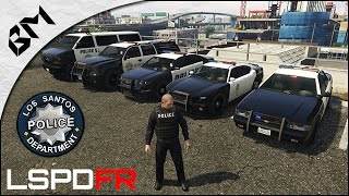 getlinkyoutube.com-GTA 5 - LSPDFR - Découverte - Gunfight - Patrouille 01