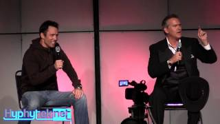 getlinkyoutube.com-Bruce Campbell & Jeffrey Donovan at Denver Comic Con: Full Panel
