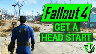 getlinkyoutube.com-FALLOUT 4: How To Get a MASSIVE HEAD START in Fallout 4! (Hit Level 10 in Less Than 30 Minutes!)