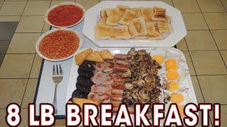 getlinkyoutube.com-ENORMOUS 8LB English Breakfast Challenge!!