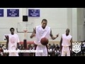 Chris brown dunk au luda celebrity game