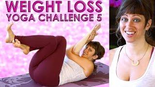 getlinkyoutube.com-YOGA Weight Loss Challenge Workout #5 - 20 Minute Fat Burning Yoga Meltdown Beginner & Intermediate