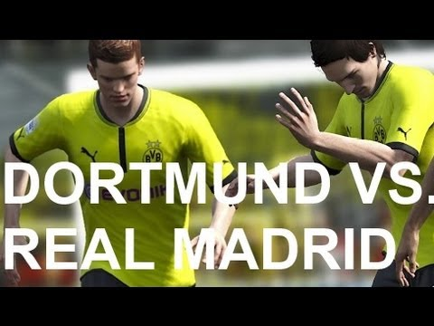 Real Madrid vs Borussia Dortmund - FIFA 13 Prono